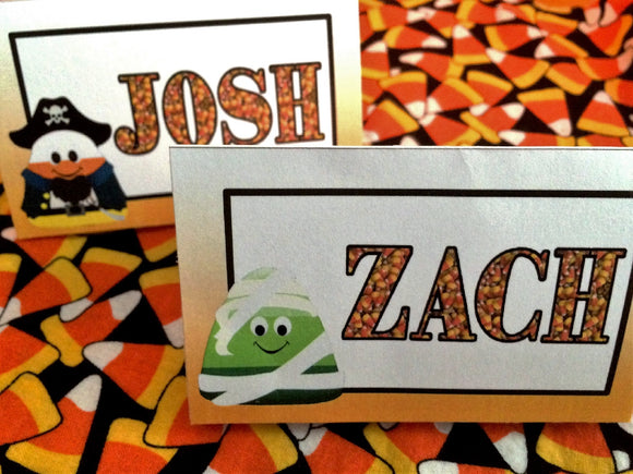 Candy Corn Table Cards