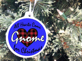 Christmas Gnome Personalizable Ornament