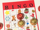 Whimsical Christmas Bingo Game Printable