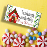 Christmas Co-Worker Candy Bar Wrapper Printable