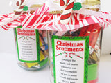 Christmas Sentiments Candy Jar Download