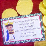Christmas Wiseman 1 Printable Bag Toppers
