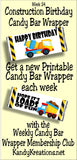 2017 Candy Bar Wrapper Membership Club