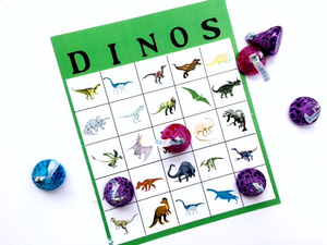 Dinosaur Bingo Game Printable