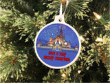 Disney Couple Personalized Christmas Ornament