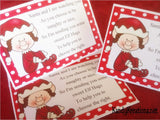 Elf Hugs Bag Topper Printable
