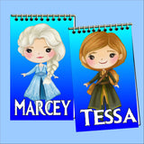 Frozen Personalized Mini Notebooks Set 1