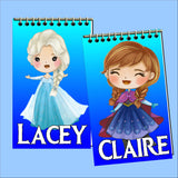 Frozen Personalized Mini Notebooks Set 3