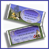 Fall in Love Valentine Printable Candy Bar Wrappers
