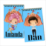 Greatest Showman Party Favor Personalized Notebook