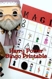 Play a fun printable bingo game at your Harry Potter birthday party. You can play with Harry, Ron, and Hermoine as you print out some party fun.