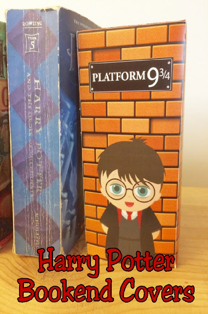 photo relating to Harry Potter Printable Book Covers called Harry Potter Printable Bookend Handles