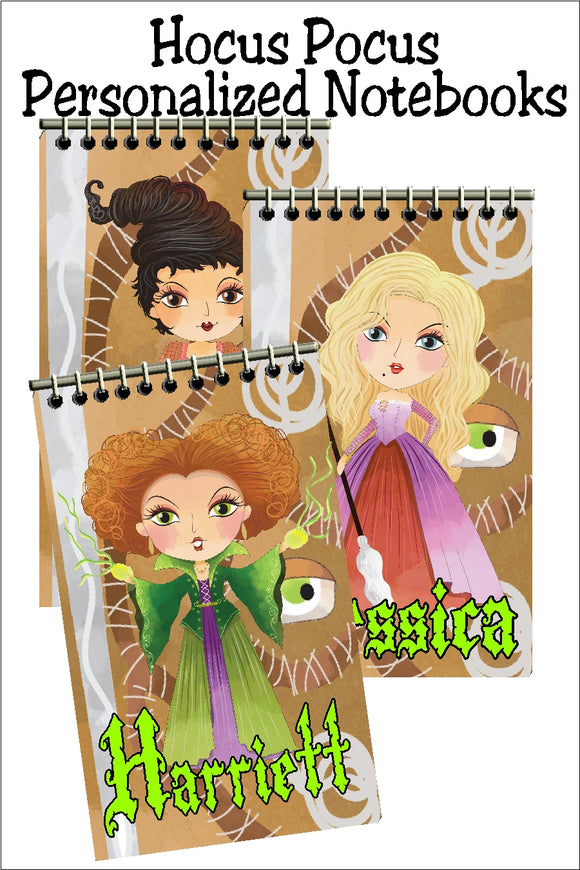 Hocus Pocus Mini Notebooks