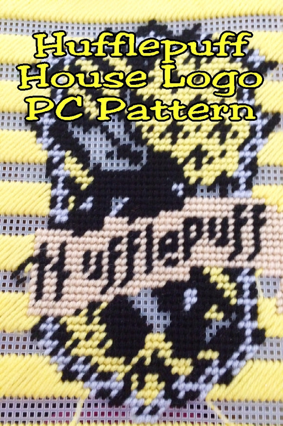 Show your Hufflepuff House pride with this Harry Potter plastic canvas pattern perfect for your Harry Potter birthday or dinner parties.