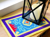 Magic Carpet Plastic Canvas Pattern