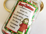 Christmas Scripture Advent Coutdown Candy Jar Download