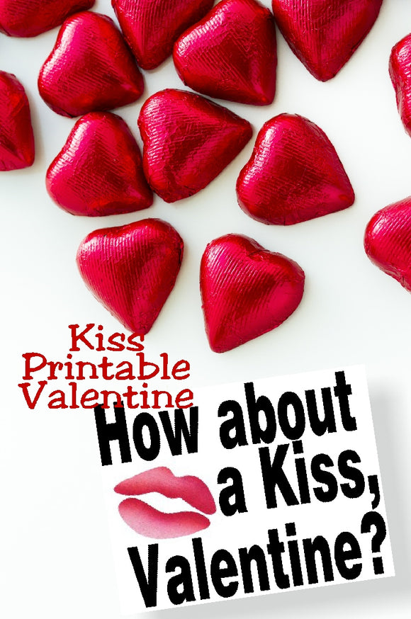 Add some yummy Hershey kisses to this Valentine candy topper for a sweet treat for all those on your Valentine list.
