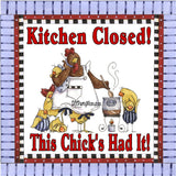 Kitchen Closed Printable