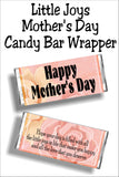 Wish all your friends and family a Happy Mother's Day with this beautiful Mothers day card and candy bar.