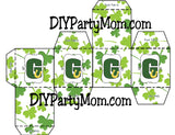 Lucky St Patrick's Day Monogram G