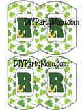 Lucky St Patrick's Day Monogram R
