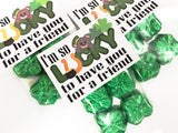 Lucky Friend St Patricks Day Bag Topper