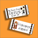 Meant to Be Nightmare Before Christmas Candy Bar Wrapper