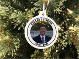 North Carolina Mission Personalized Christmas Ornament