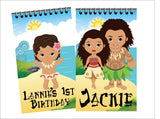 Moana Personalized Mini Notebooks