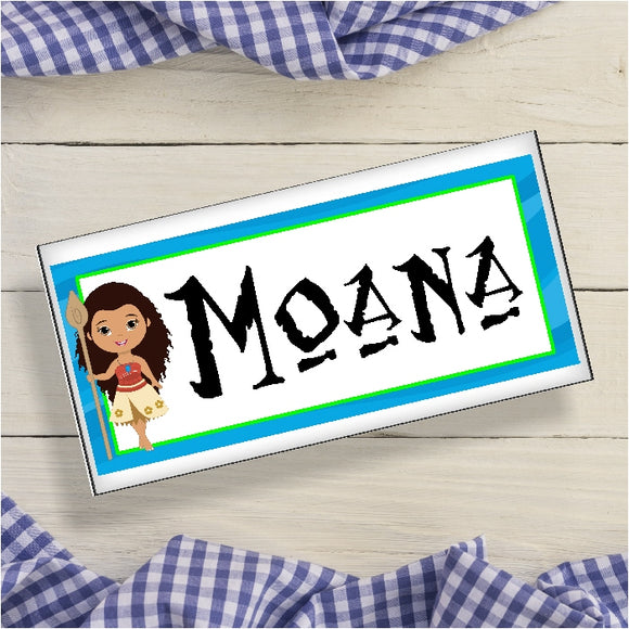 Moana Personalized Name Plaque