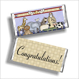 Noahs Ark Printable Candy Bar Wrappers