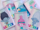 Trolls Personalized Mini Notebooks