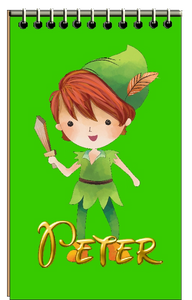 Peter Pan Mini Notebooks