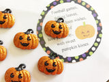 Pumpkin Kisses Printable Bag Topper