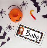 Sally Nightmare Before Christmas Personalized Name Plaque