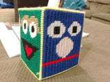 Sesame Street Pick Your Side Plastic Canvas Tissue Box Pattern
