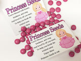 Sleeping Beauty Princess Seeds Bag Topper