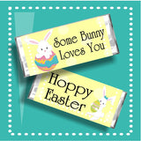 Some Bunny Loves You Easter Candy Bar Wrapper