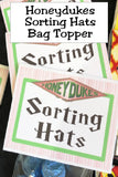 Honeydukes Printable Bag Topper Collection