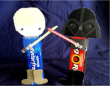 Star Wars Gum Head Printable Party Favor Treats