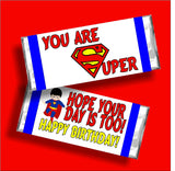 Super Birthday Candy Bar Wrapper Printable