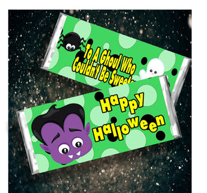 Sweet Ghoul Halloween Candy Bar Wrapper