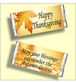 Thanksgiving Blessings Candy Bar Wrapper