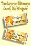 Count your blessings this Thanksgiving with a yummy Thanksgiving candy bar perfect for the dessert table or as a party favor for your Thanksgiving guests.
