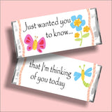 Thinking of You Candy Bar Wrapper Printable