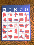 US State Bingo Game Printable
