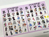 Couples Valentine Bingo Game Printable