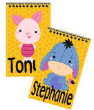 Winnie the Pooh Party Favor Personalized Notebooks