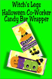 Halloween Candy Bar Wrapper Printable Set