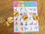 Alice in Wonderland Bingo Game